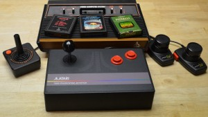 Works with Atari 2600