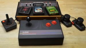 Works with Atari 2600